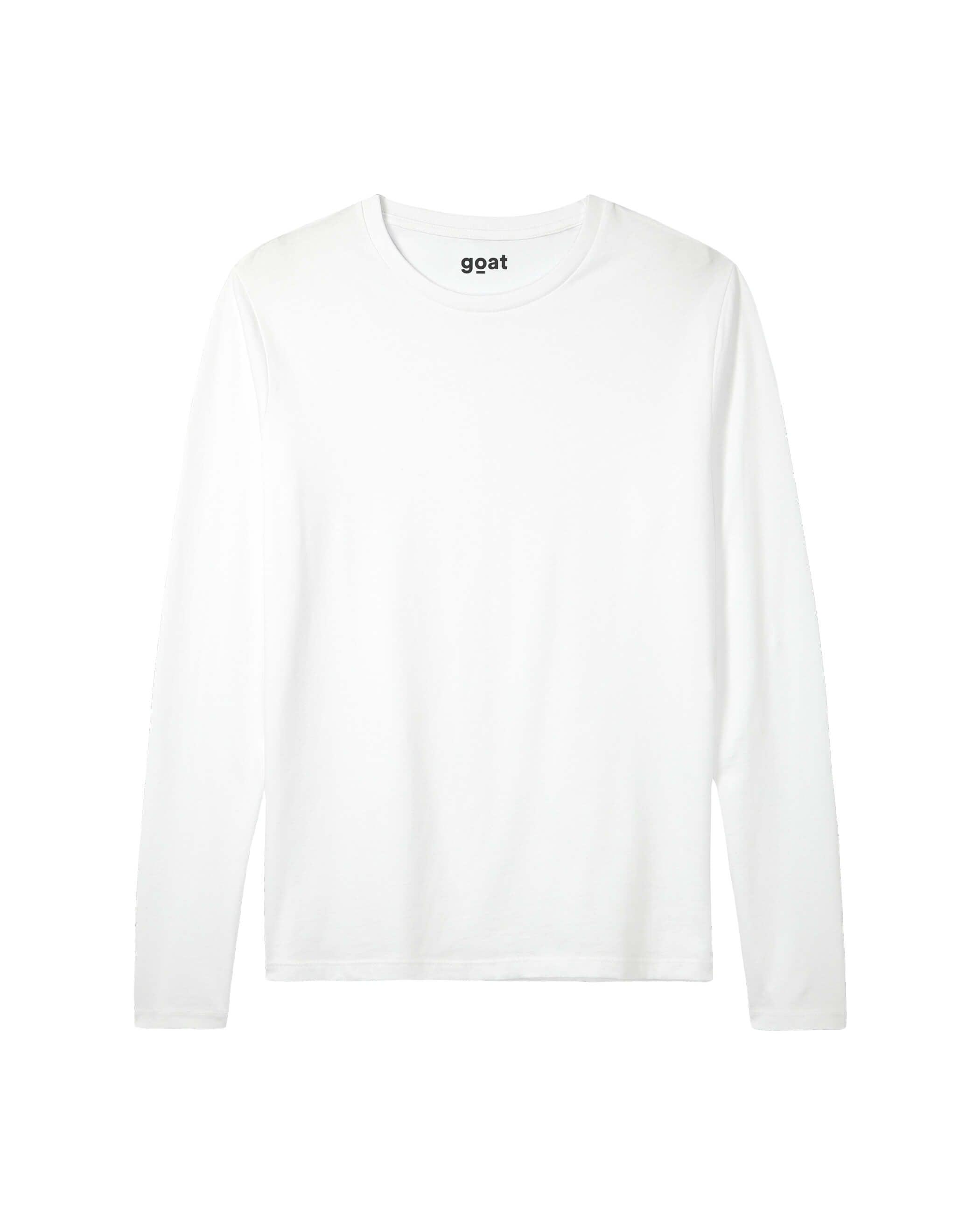 Sloan Long Sleeve White