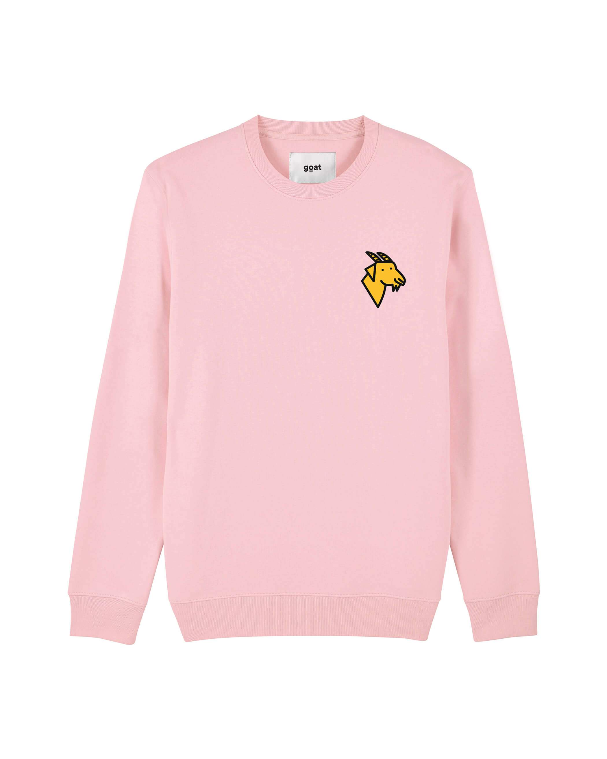 Ace Goat Sweater Pink