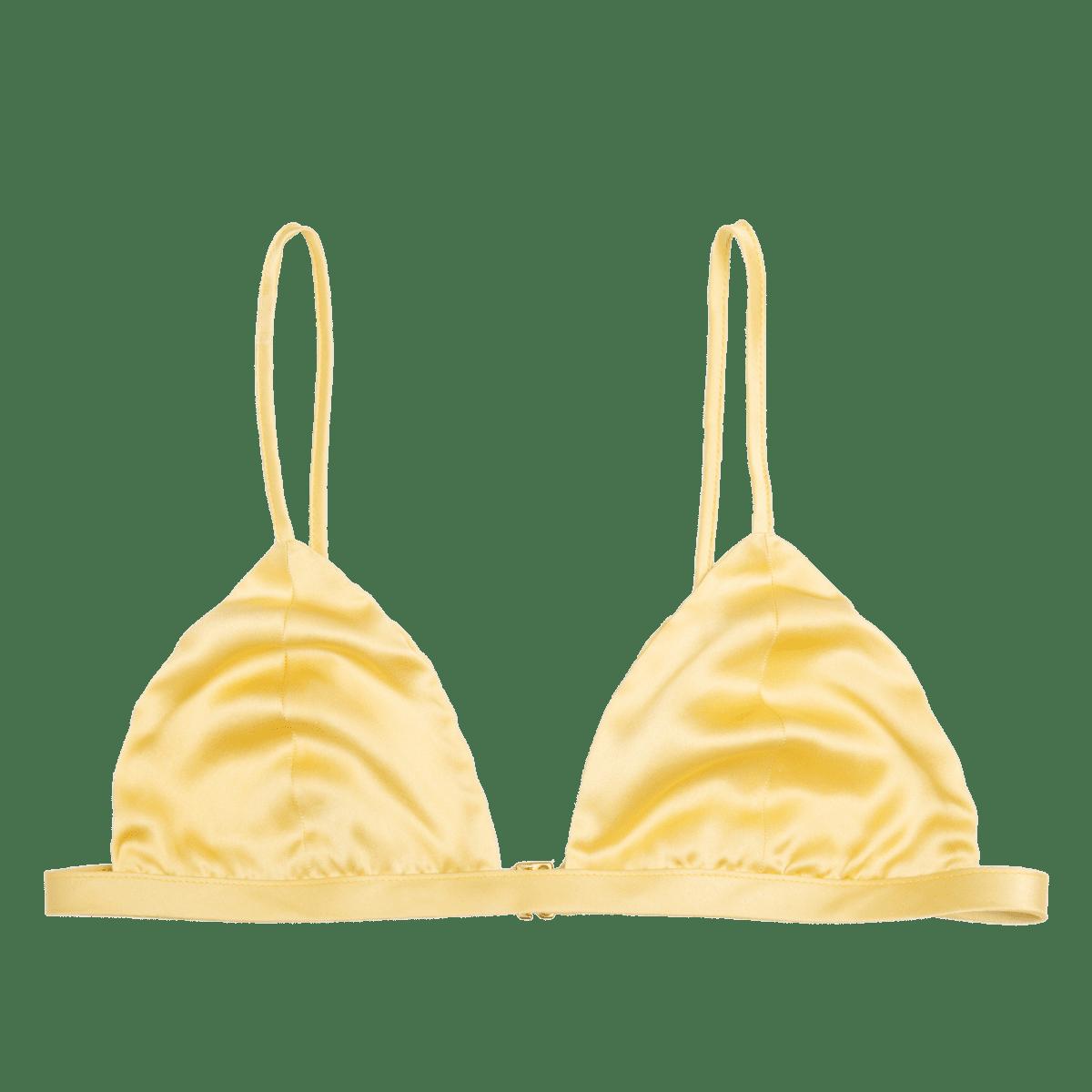 Ivy desert organic silk soft cup triangle bra