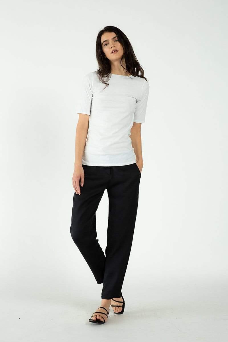 Neu Nomads Organic Cotton & SeaCell™ Short Sleeve Crewneck Tee   Multiple Colours