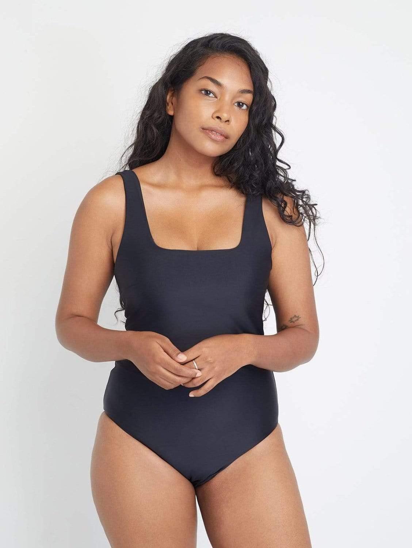 Baikal ECONYL® One Piece Swimsuit   Black