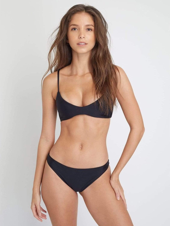 Como ECONYL® Classic Bikini Bottom   Black