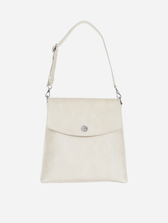 Gemma Vegan Leather Backpack | Cream