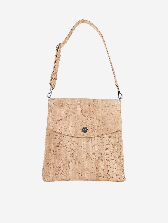 Gemma Vegan Backpack | Natural Cork