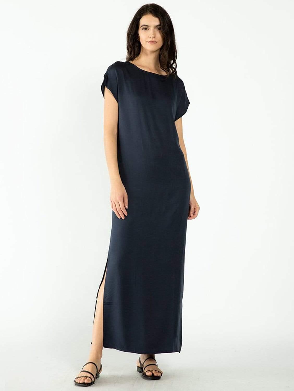 Heide TENCEL™ Vegan Silk Column Maxi Dress | Multiple Colours
