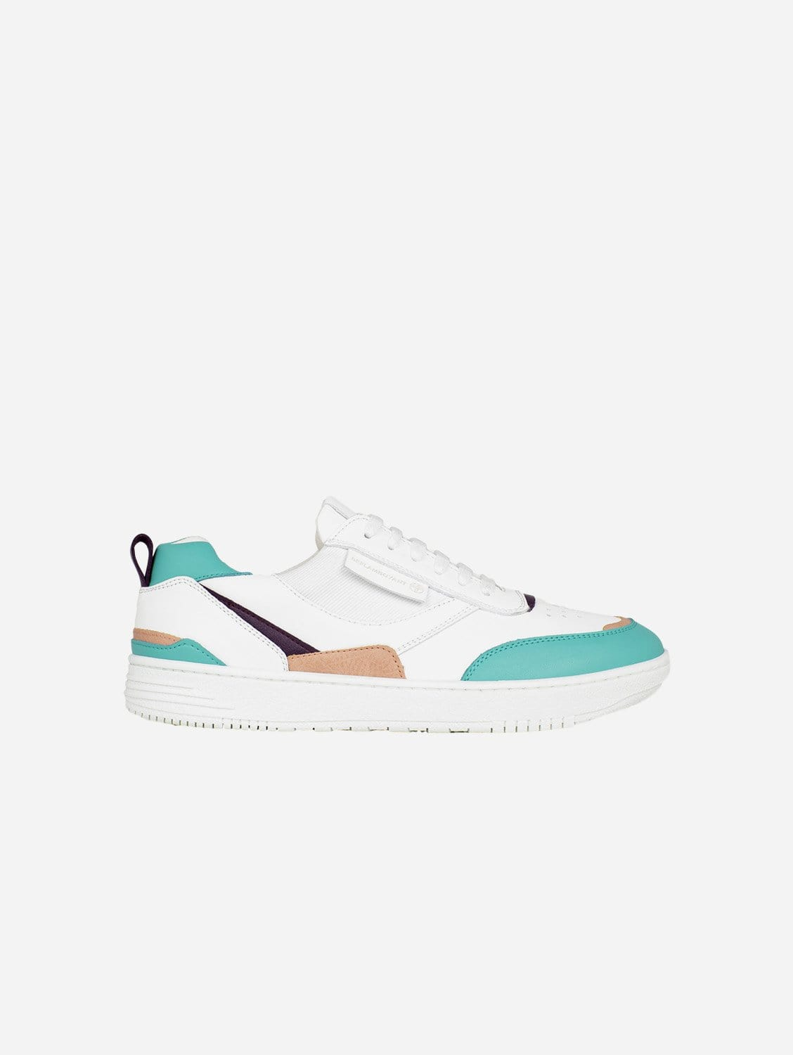 UX-68 Vegan Leather Trainers   Water