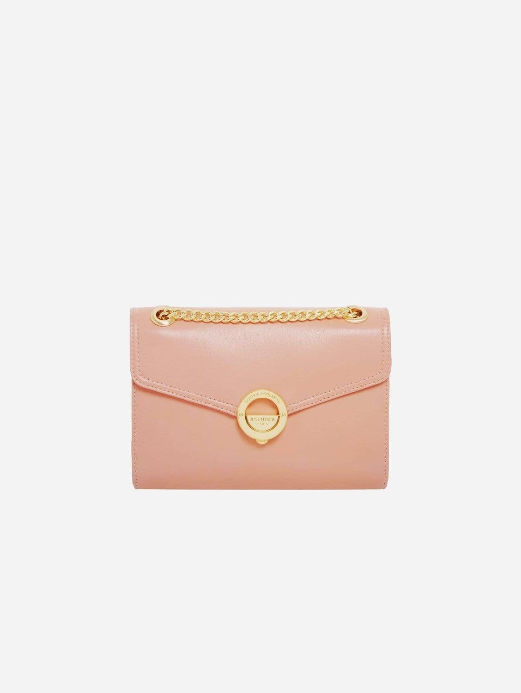 Pamela AppleSkin Vegan Leather Crossbody | Pink Nude