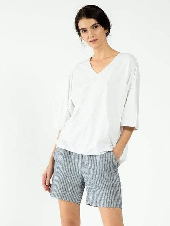 Alex Organic Cotton & SeaCell™ Jersey Top | Multiple Colours