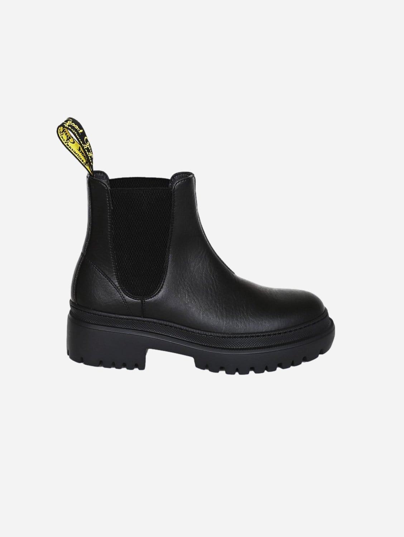 Oliver Vegan Leather Chelsea Boot   Black