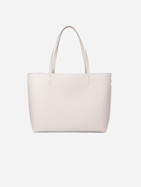 Maya AppleSkin™ Vegan Leather Tote Bag | Stone White