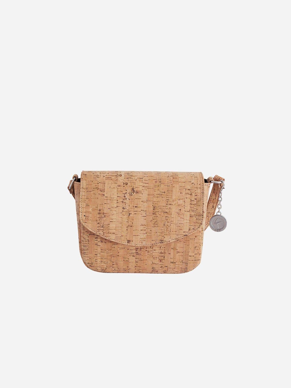 Tashi Crossbody Bag | Natural Cork