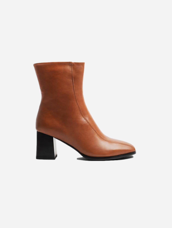 Roka Up-Cycled Vegan Leather Boot   Tan