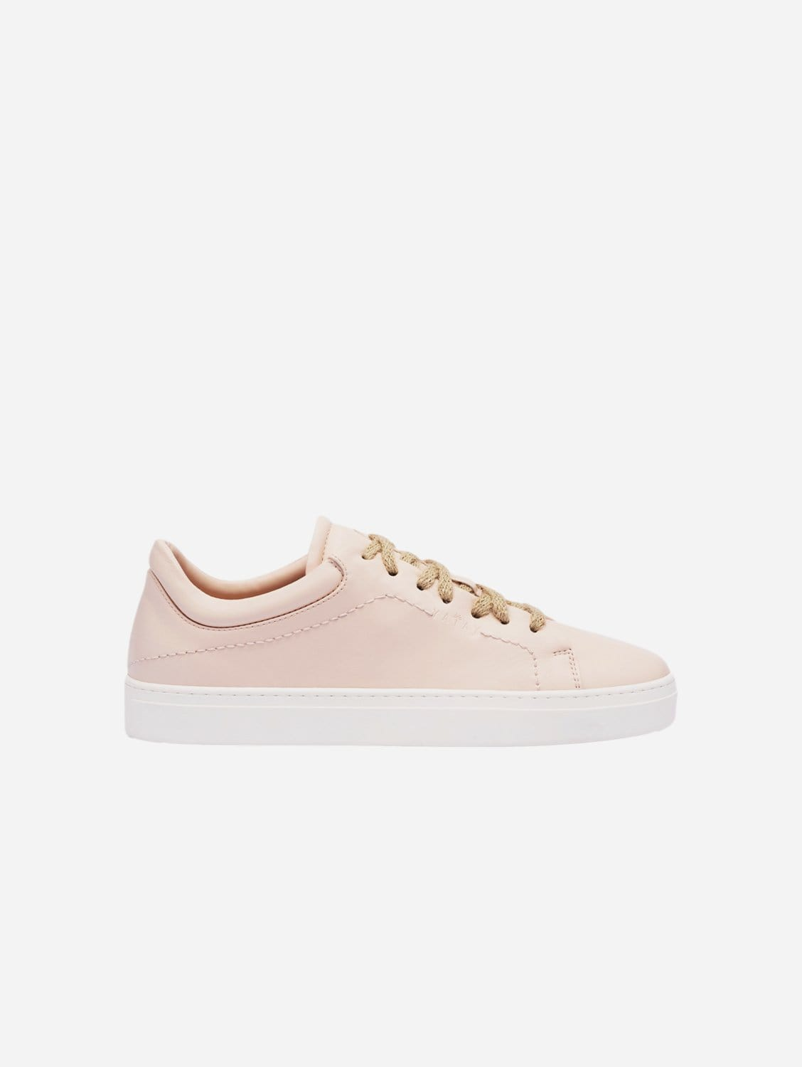Neven Vegan Leather Low-Top Trainer | Himalayan Pink