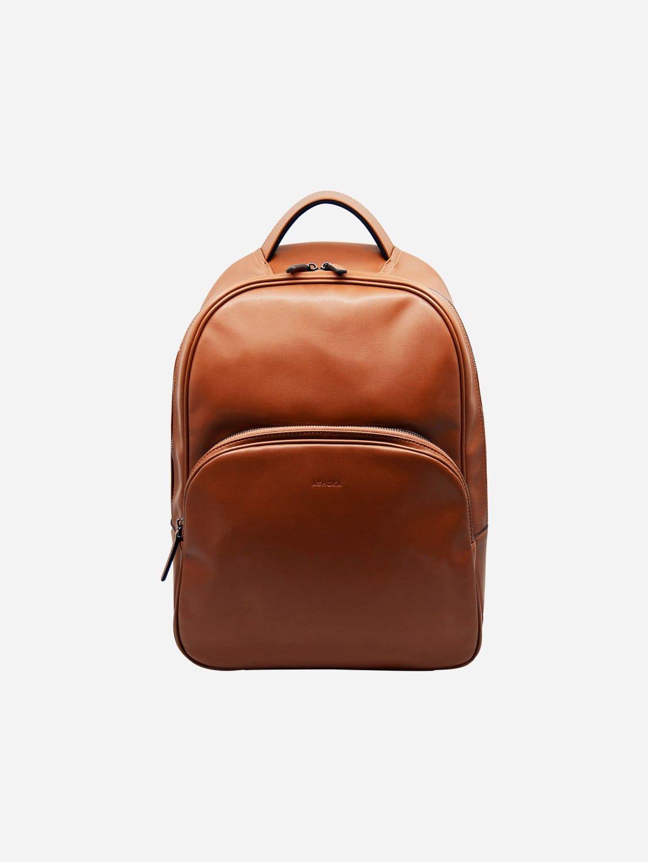 Raphaël Vegan Leather Backpack | Camel