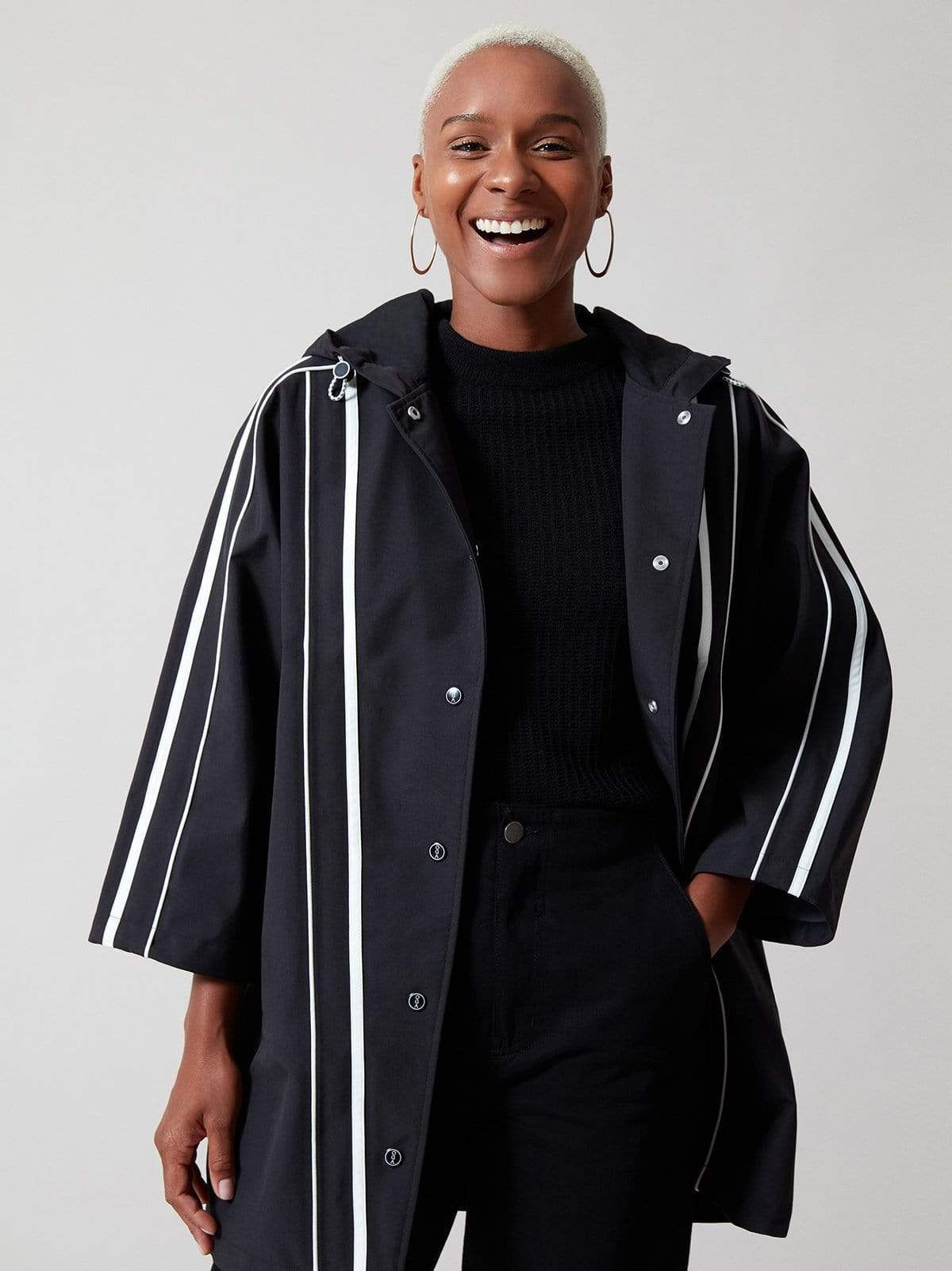 Waterproof Sustainable Greenlon® Recycled Yarn Raincoat