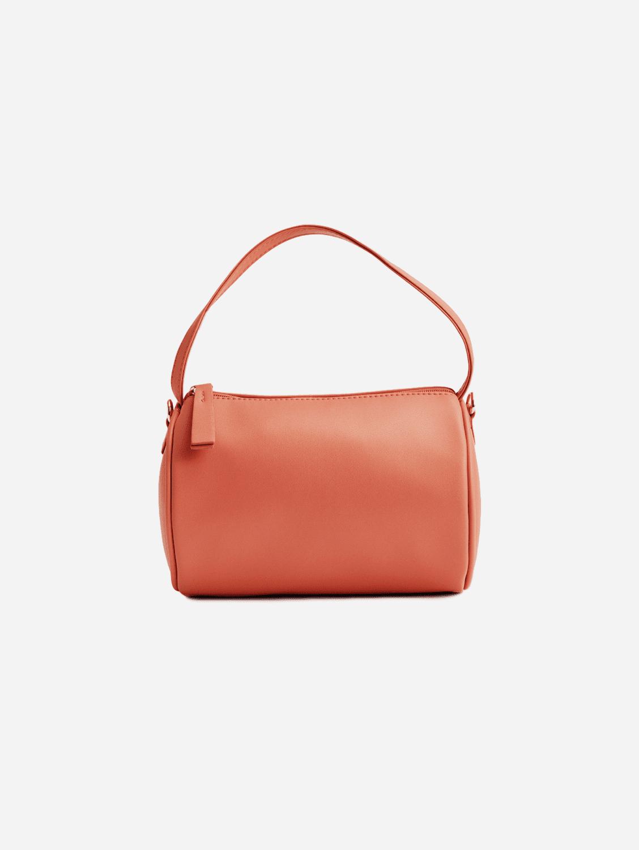 Vegan Leather Mini Duffel Bag | Roseate