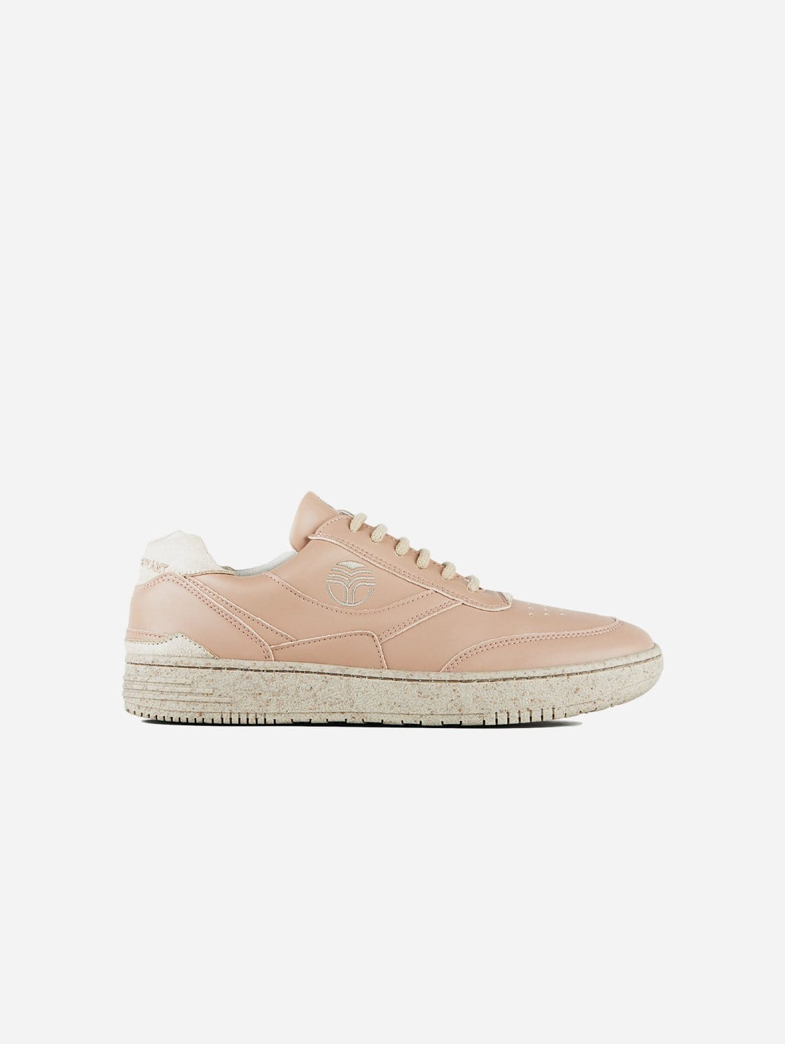 UX-68 Vegan Leather Trainers | Almond