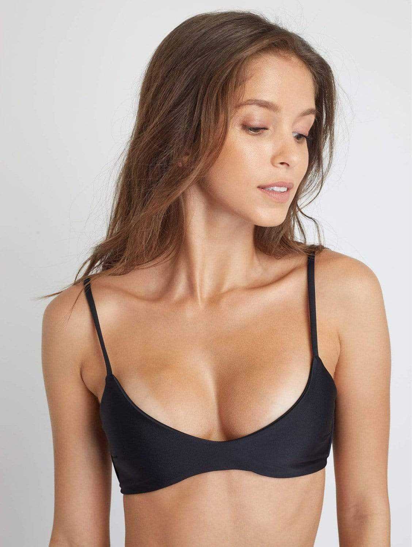Malawi ECONYL® Bikini Top   Black