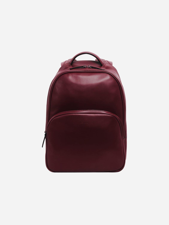 Raphaël Vegan Leather Backpack | Burgundy