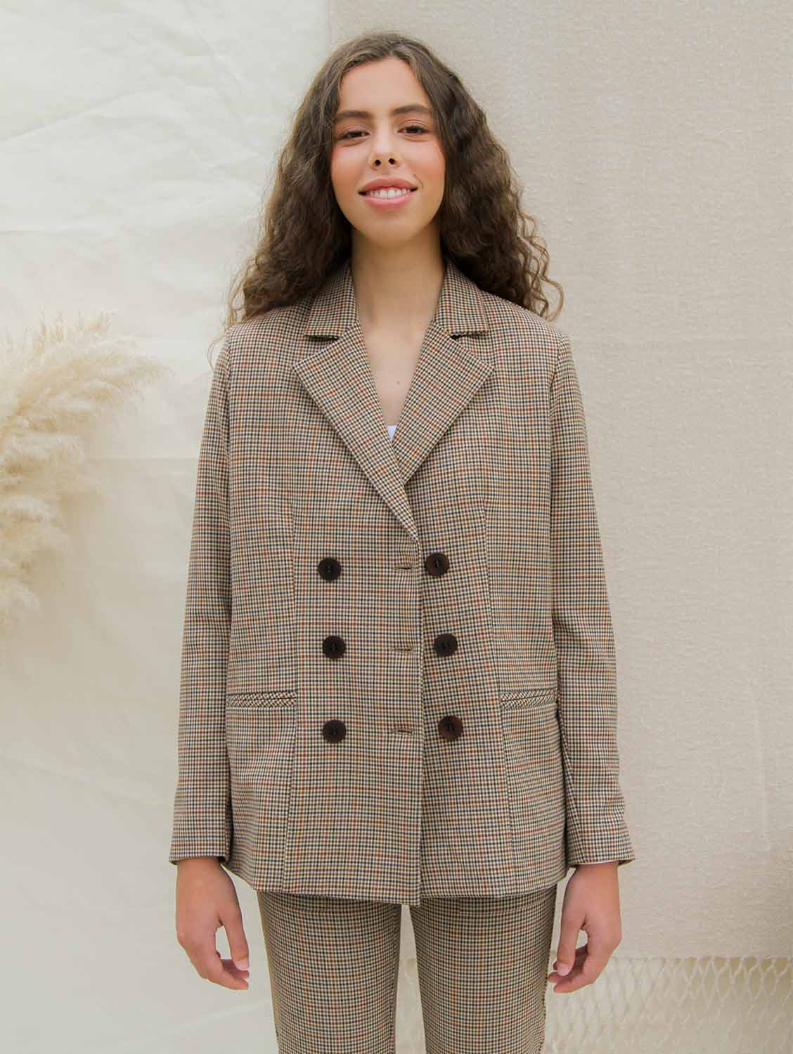 Oversized Double Breasted Blazer | Chess