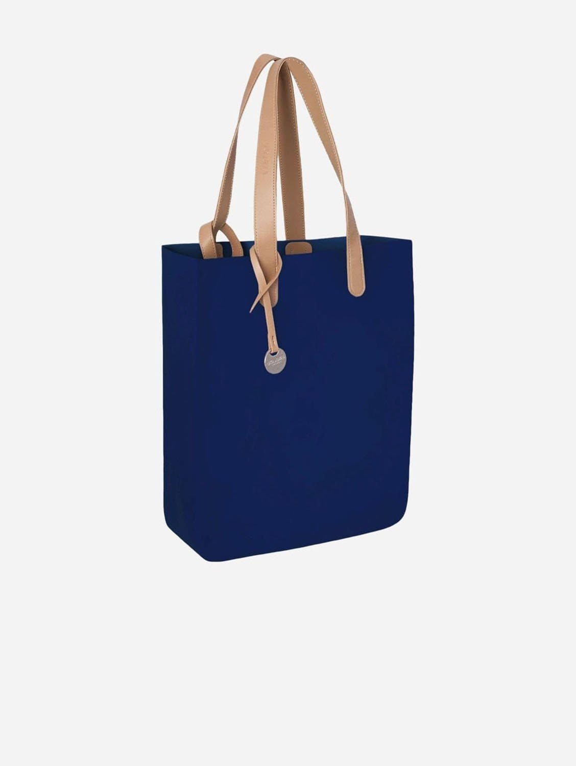 City Silicone Vegan Tote Bag | Navy