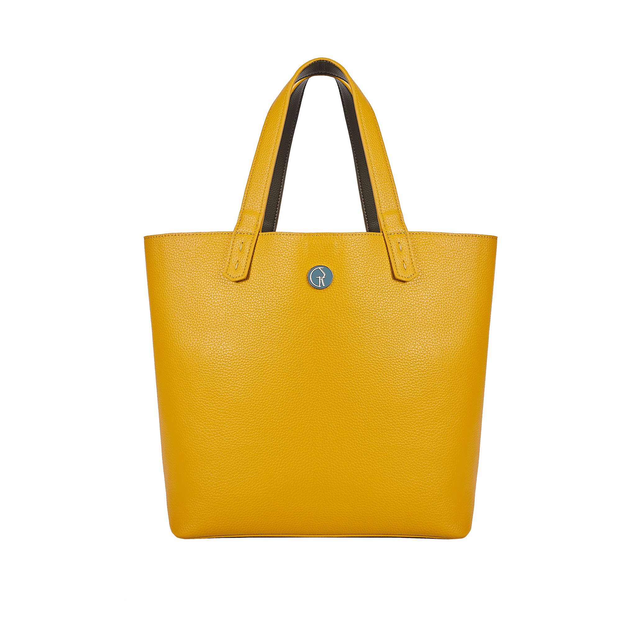 The Morphbag by GSK 3 Vegan Leather Bags in 1   Green Pepper & Mustard