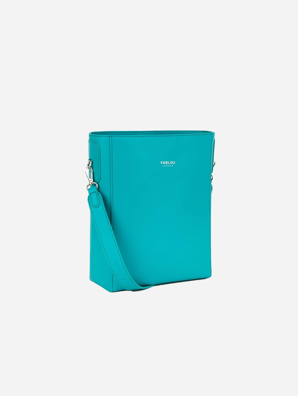 Charlotte Vegan Leather Tote Bag   Fiji