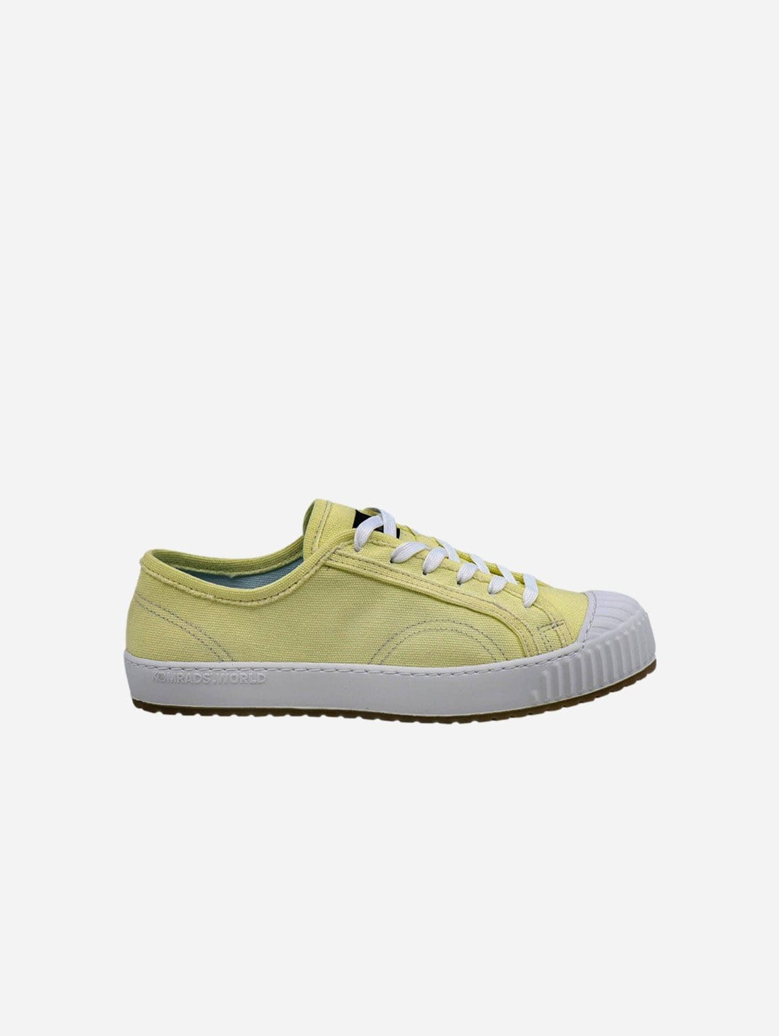 Spartak ICNS Cotton Vegan Trainers | Ancient Yellow