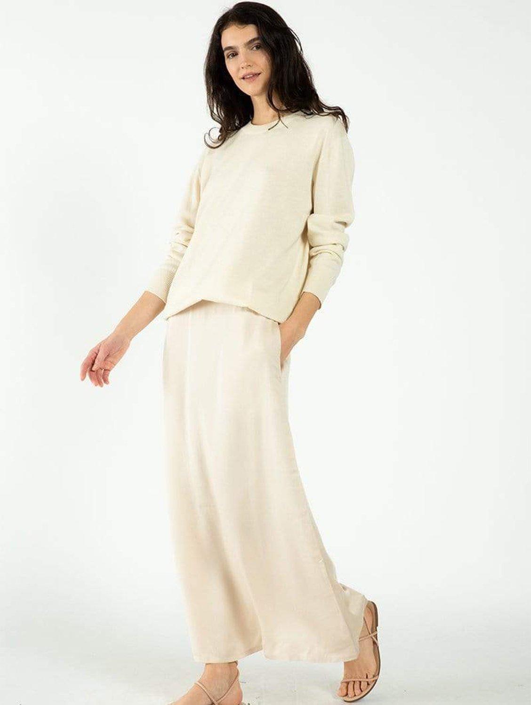 TENCEL™ Vegan Silk Maxi Skirt   Multiple Colours