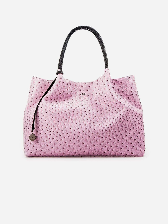 Naomi Vegan Leather Tote Bag   Lavender