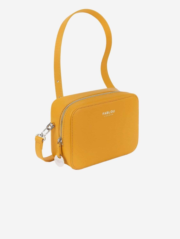 Chelsea Vegan Leather Crossbody Bag | Ochre