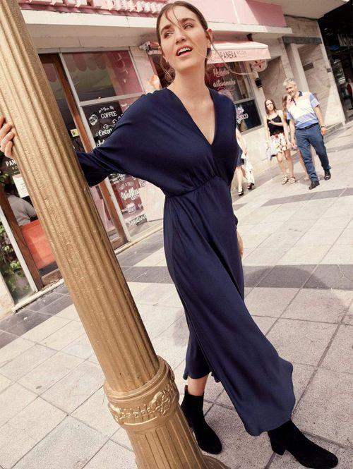 Helena TENCEL™ Vegan Silk Column Maxi Dress | Multiple Colours
