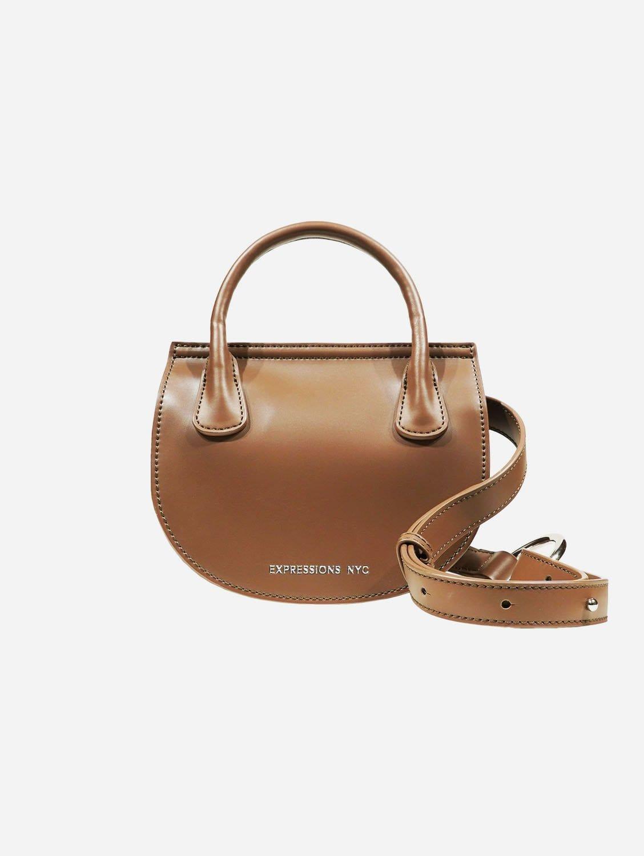 COLUMBUS AVE Vegan Leather Belt Bag | Taupe