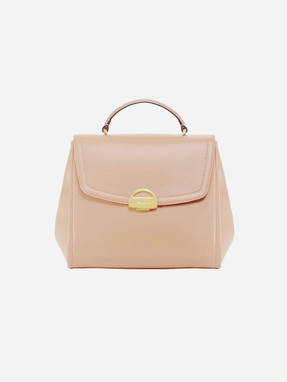 Paname AppleSkin Vegan Leather Handbag   Pink Nude