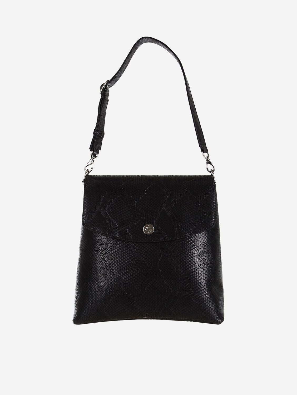 Gemma Vegan Leather Backpack | Black