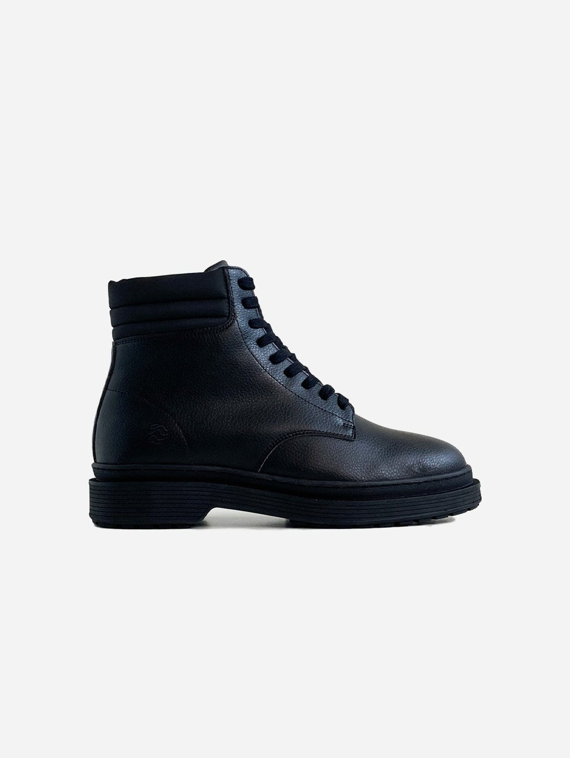 Revenge Sustainable Vegan Leather Ankle Boot | Black