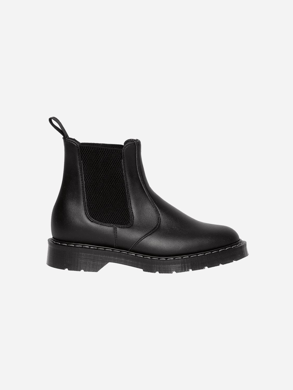 Oscar Vegan Leather Cushion Sole Boots | Black