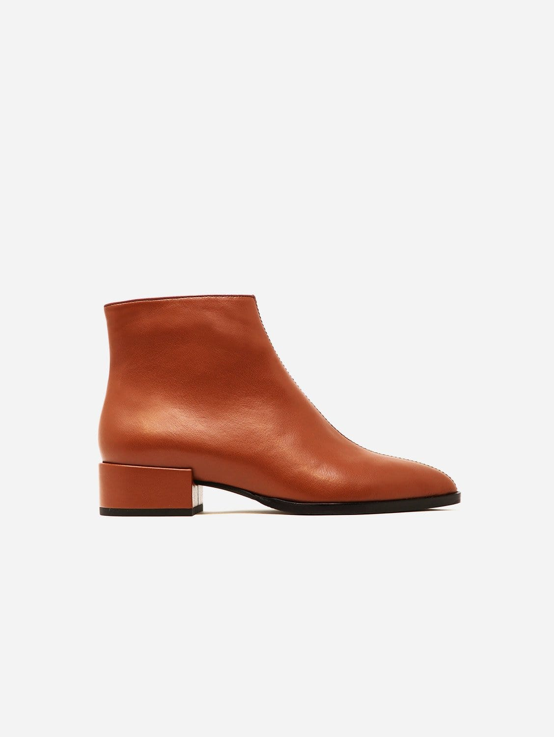 Cassidy Recycled Fiber Vegan Nappa Leather Boot | Saddle Brown
