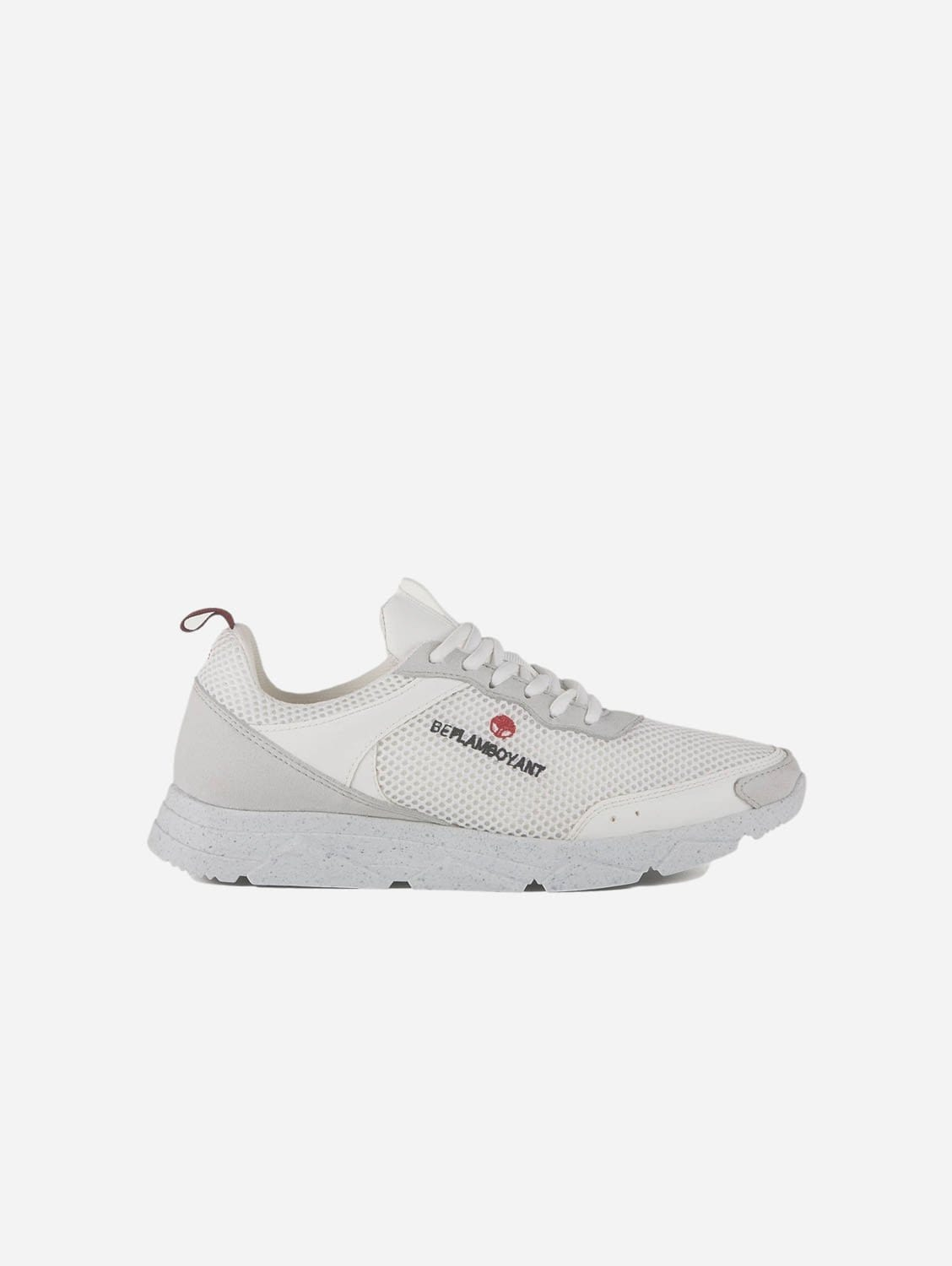 Street Recycled Material Vegan Trainers | White