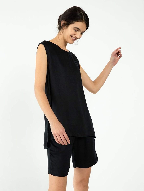 Riga TENCEL™ Vegan Silk Shorts   Multiple Colours