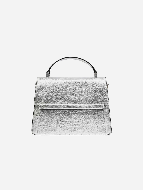 Fire Piñatex Vegan Leather Flap Crossbody Bag | Sillver