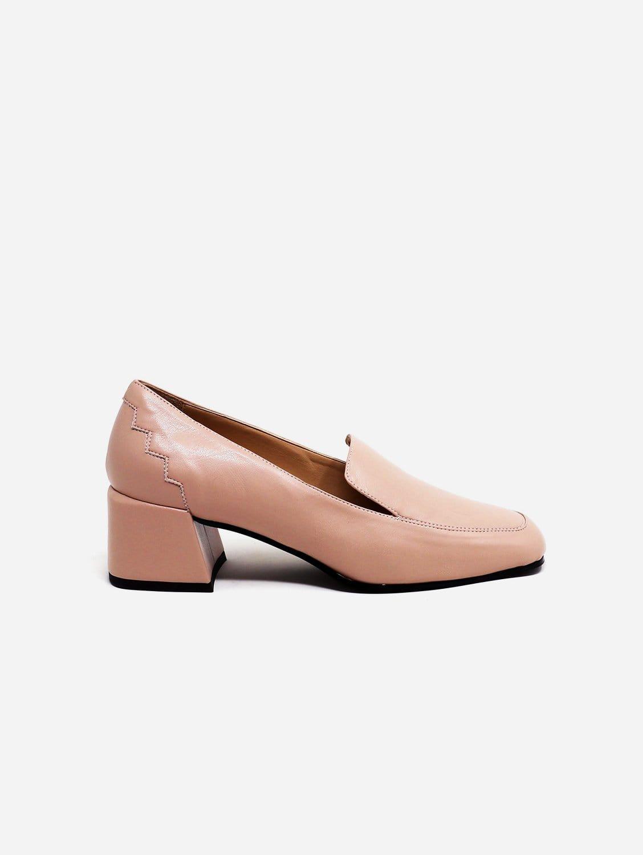 Marlene Recycled Fiber Vegan Nappa Leather Loafer | Blush