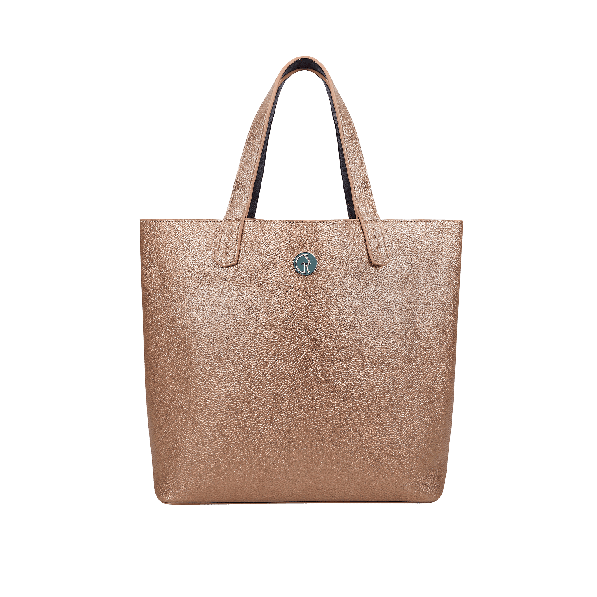 The Morphbag by GSK 3 Vegan Leather Bags in 1   Onyx & Rose Gold