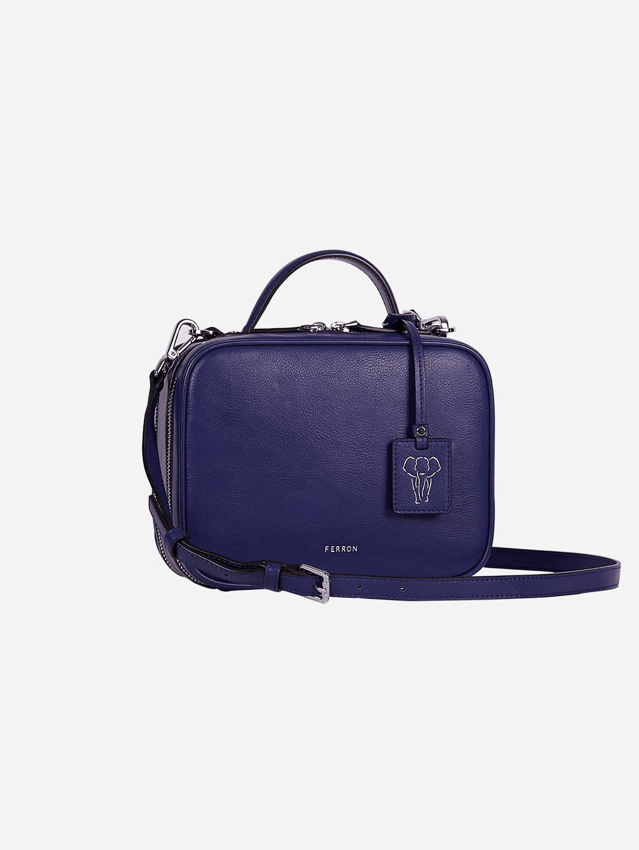 The Crossbody Vegan Bag   Blue