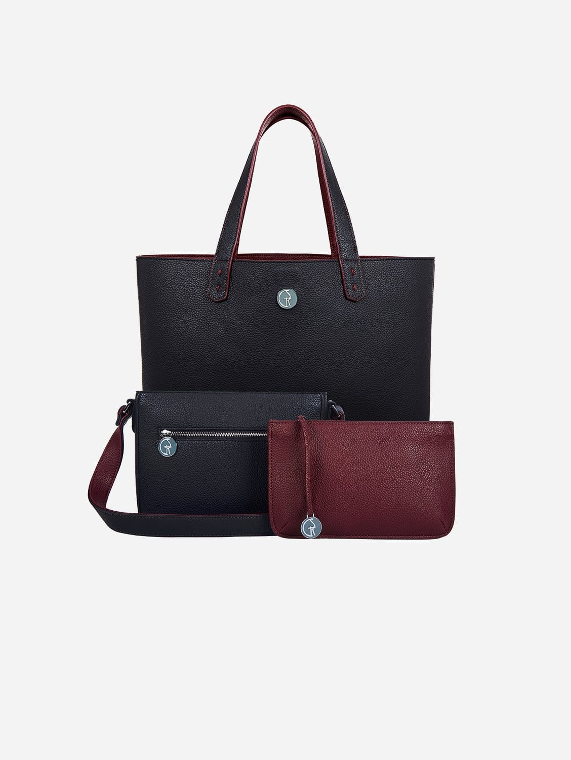 3 Vegan Leather Bags in 1 | Blackberry & Currant