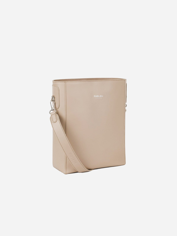 Charlotte Vegan Leather Tote Bag   Frapp