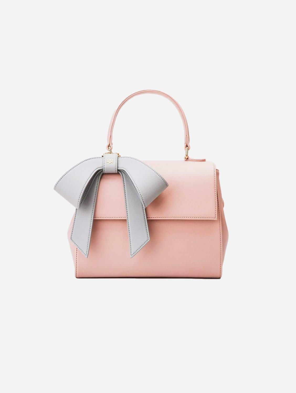 Cottontail Vegan Leather Handbag | Light Pink