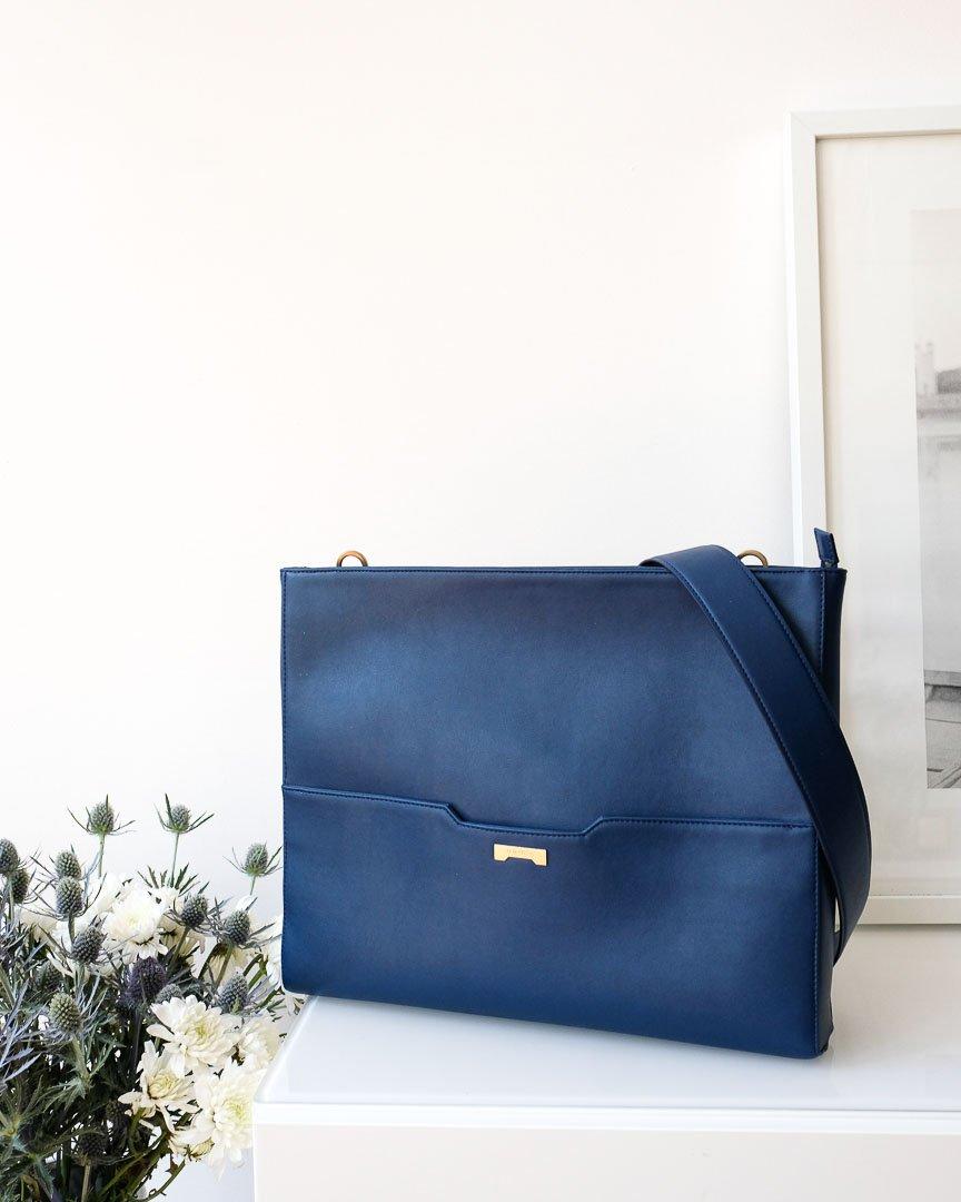 Jenah St. Laptop Bag Dark Blue