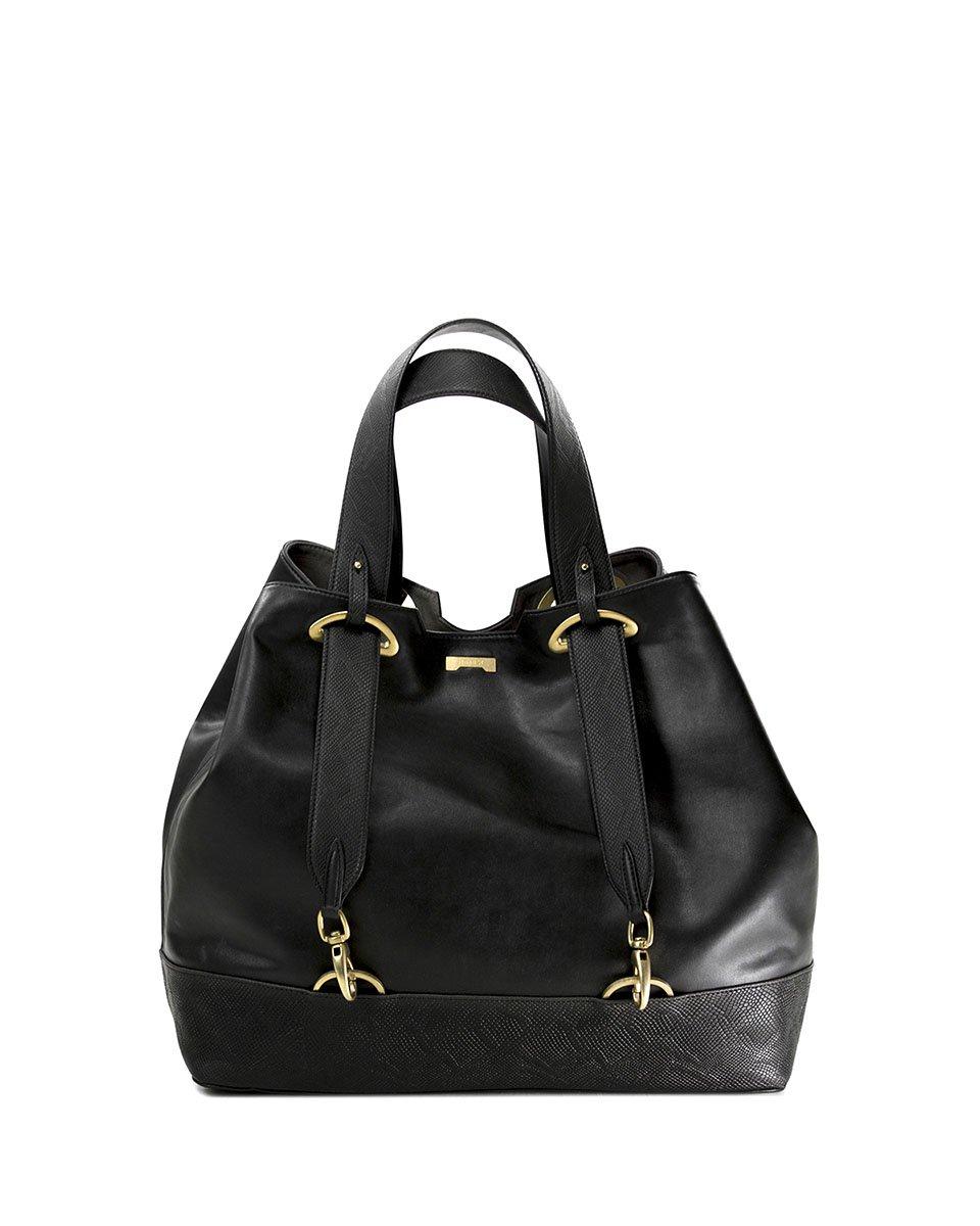 Backpack Shopper Python Black