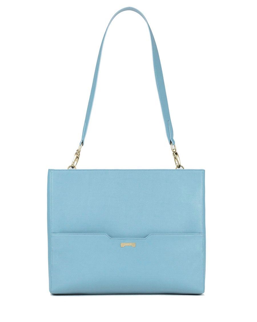 Jenah St. Laptop Bag Light Blue